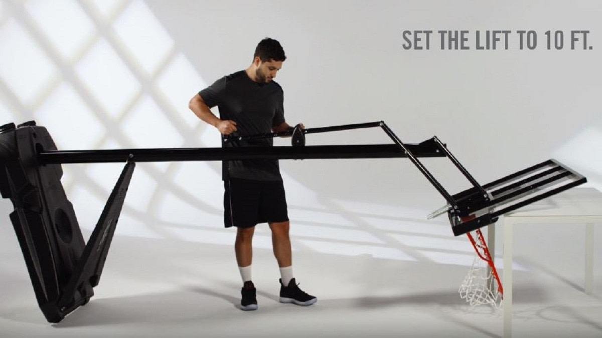 How To Set Up Basketball Hoop